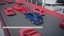 Audi Q7 - Animation Stauassistent