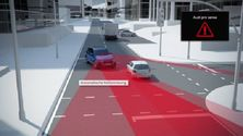 Audi Q7 - Animation Abbiegeassistent