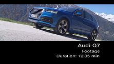 Audi Q7 - Footage Alpen
