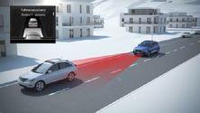 Audi Q7 - Animation Prädiktiver Effizienzassistent mit ACC