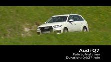 Q7 Fahraufnahmen- Footage