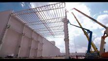 Audi México - Baustellenfortschritt April 2015