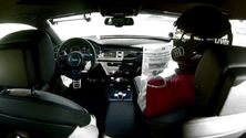 Frank Biela im pilotierten Audi RS 7