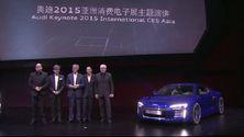 Audi auf der CES Asia 2015