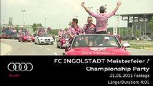 FC Ingolstadt Meisterfeier - Footage