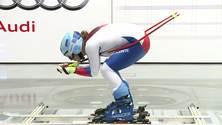 Stürmischer Tag: Schweizer Ski-Nationalteam im Windkanal der AUDI AG - Footage