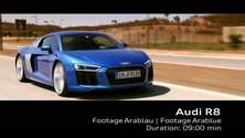 Audi R8 V10 - Footage
