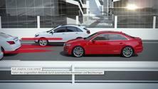 Audi A4 - Animation Stauassistent