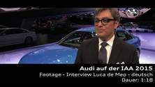 Luca de Meo auf der IAA 2015 - Footage