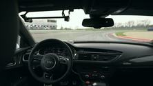 Der Audi RS 7 piloted driving concept