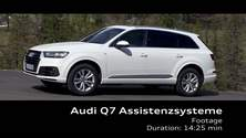 Audi Q7 - Footage Assistenzsysteme