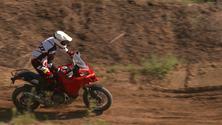 Die neue Ducati Multistrada 1200 Enduro - Off-Road Testing
